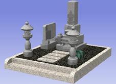 墓地の完成予想図